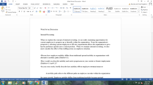 Week Seven discussion | Documents and Forms | Research Papers