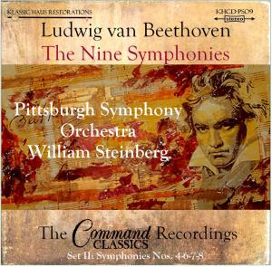 beethoven: 9 symphonies set ii: symphonies nos. 4-6-7-8 - pso/steinberg