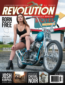 revolution motorcycle magazine vol.42 francais