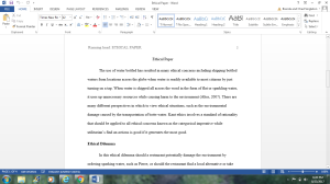 Ethical Paper   Documents and Forms   Research Papers