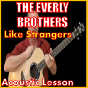 learn to play like strangers by the everly brothers