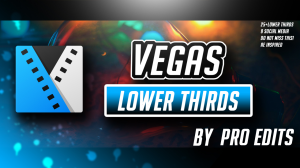 sony vegas minimal lower thirds pack by pro edits!