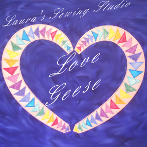 Laura's Love Geese EXP   Crafting   Embroidery