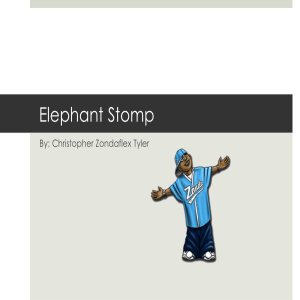 the elephant stomp