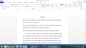 MKT500 Week one discussion   Documents and Forms   Research Papers