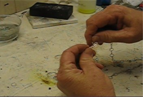 First Additional product image for - Chains, How to Make Chains taught by Don Norris, Silversmithing for jewelry making.