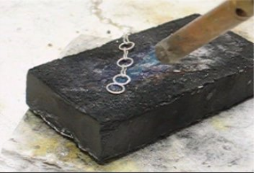 Fourth Additional product image for - Chains, How to Make Chains taught by Don Norris, Silversmithing for jewelry making.
