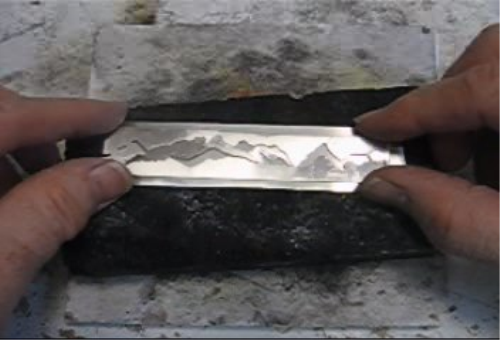 Second Additional product image for - Overlay Piece taught by Don Norris, Silversmithing for jewelry making.