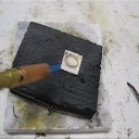 Soldering Down Bezels, Stepped Bezel taught by Don Norris, Silversmithingfor jewelry making. | Crafting | Jewelry
