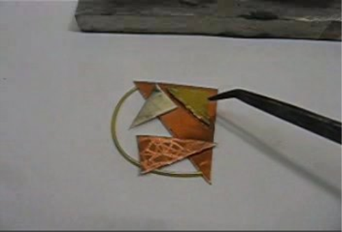 First Additional product image for - Soldering Mixed Metals, Sheet taught by Don Norris, Silversmithing for jewelry making.