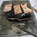 Soldering Mixed Metals, Sheet taught by Don Norris, Silversmithing for jewelry making. | Crafting | Jewelry