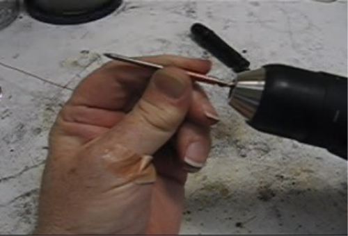 Fourth Additional product image for - Using a Drill, Twisted Wire, Jump Rings taught by Don Norris Silversmithing for jewelry making.