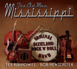 cd-304 tex rubinowitz & bob newscaster - the old man mississippi