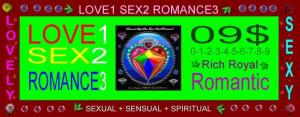 love1-sex2-romance3_$09