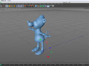 3d character-fax for games and anims