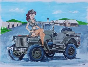 Jeep Girl | Photos and Images | Digital Art