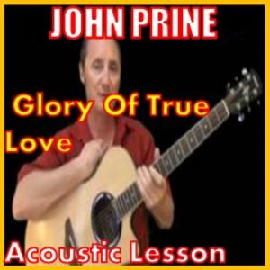 learn to play glory of true love by john prine
