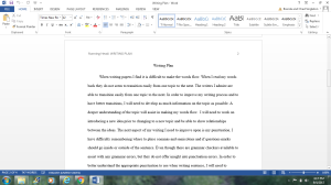 Writing Plan   Documents and Forms   Research Papers