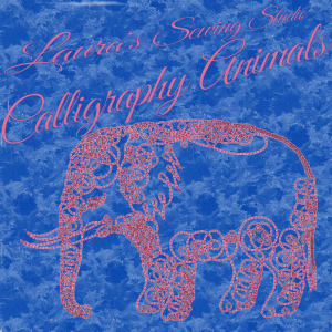 Laura's Calligraphy Animals PCS   Crafting   Embroidery
