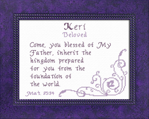 name blessings - keri