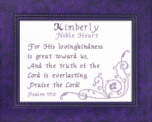 name blessings - kimberly 3