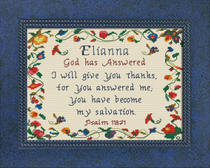 name blessings - elianna
