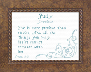 name blessings - judy