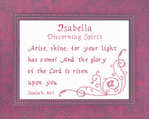 name blessings - isabella 2