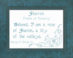 name blessings - sharon 2