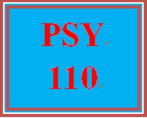 PSY 110 Week 3 Applying Positive Habits | eBooks | Education