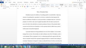 ethics of punishment paper