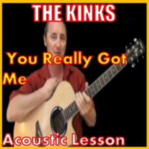 learn to play you really got me by the kinks