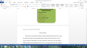 Graphic organizer, Critical Evaluation, Critical Synthesis | Documents and Forms | Research Papers