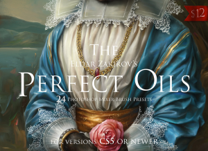 the perfect oils • mixer brush presets for photoshop versions from cs5