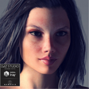 Nadine for Genesis 3 and Genesis 8 Female | Software | Design