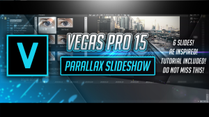sony vegas mini glass parallax slideshow by pro edits