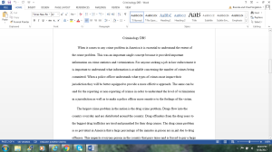 Criminology DB5   Documents and Forms   Research Papers
