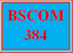 BSCOM 384 Week 2 Marketing Communications Process | eBooks | Education