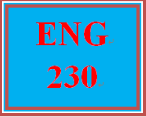 ENG 230 Week 1 Subjects and Verbs | eBooks | Education