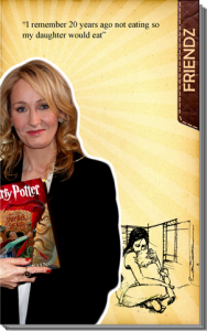 jk rowling motivation