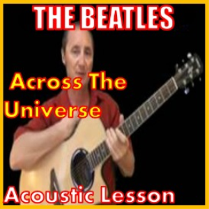 learn to play across the universe by the beatles