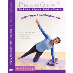 prenatal quick-fit back care workout