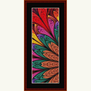 Fractal 639 Bookmark cross stitch pattern by Cross Stitch Collectibles | Crafting | Cross-Stitch | Other