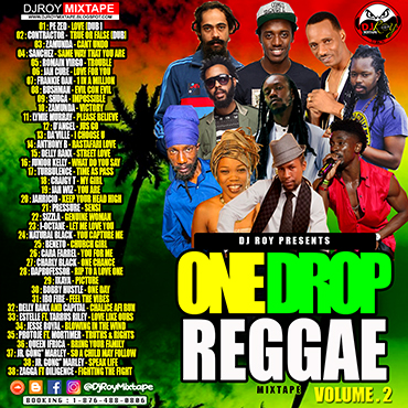 Dj Roy One Drop Reggae Mix Vol 2 2017