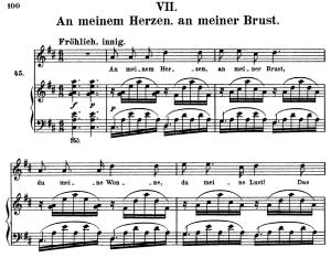 An meinem Herzen, Op. 42 No.7, High Voice in D Major, R. Schumann (Frauenliebe und Leben), C.F. Peters | eBooks | Sheet Music