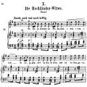 Die Hochländer Witwe, Op.25 No.10, High Voice in E minor, R. Schumann (Myrthen), C.F. Peters | eBooks | Sheet Music