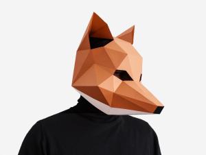 fox diy mask