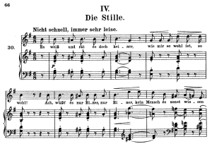 Die Stille, Op.39 No.4, High Voice in G Major, R. Schumann (Liederkreis), C.F. Peters | eBooks | Sheet Music