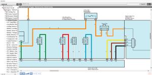 toyota c-hr hybrid 2016 2017 ewd electrical wiring diagrams