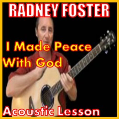 First Additional product image for - Learn to play I Made Peace With God by Radney Foster